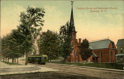 Chestnut Street and Methodist Church
