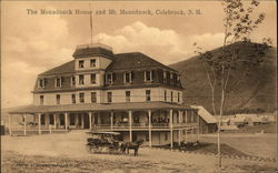 The Monadnock House and Mt Monadnock