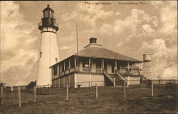 The Lighthouse Fernandina Beach, FL Postcard