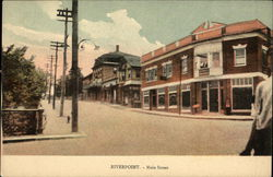 Main Street, River Point Postcard