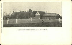 Saffron Walden School From Cricket Field