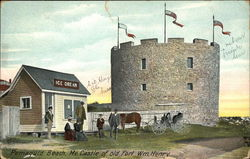 Castle of Old Fort William Henry