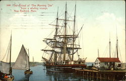 The Arrival of The Morning Star from a Whaling Voyage