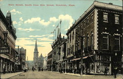 View of Main Street, South from Elm Street