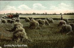 Workers in a Field of Oats