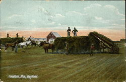 Workers in the Hayfield