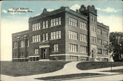 Street View of High School