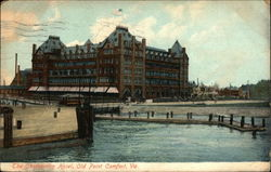 Water View of The Chamberlin Hotel