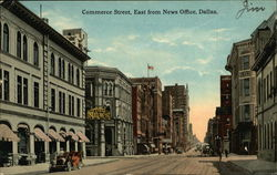 Commerce Street, East from News Office