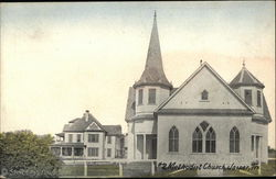 Second Methodist Church Postcard