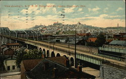 View showing L&N RR Bridge and Mt Adams