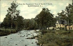 Along the Pequannock River at the MP Church
