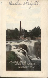 View of Passaic Falls from the Bridge