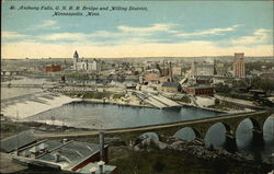St Anthony Falls, GN RR Bridge and Milling District
