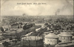 Bird's Eye View of Gas Works