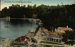 Bird's Eye View of Loop Postcard