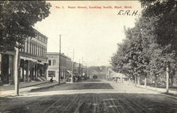 State Street, looking North Postcard