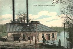 1908 Coffeyville, Kansas Postcard Presbyterian Church