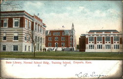 State Library, Normal School Building, Training School