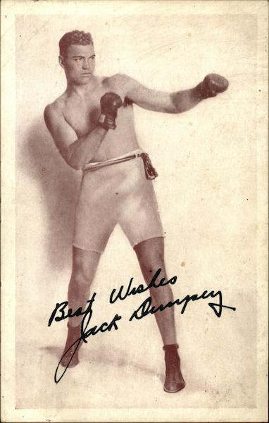 Jack Dempsey New York Boxing