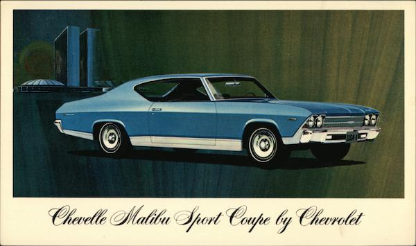 1969 Chevelle Malibu Sport Coupe by Chevrolet Cars