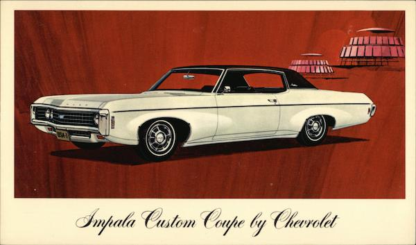 Impala Custom Coupe by Chevrolet Cars