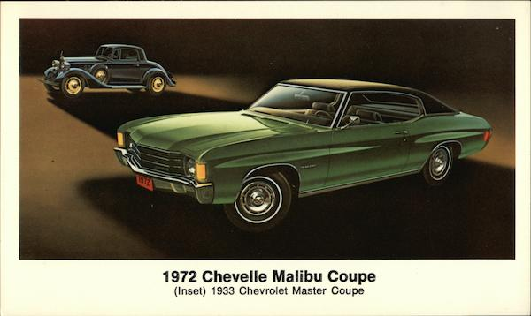 1972 Chevelle Malibu Coupe Cars
