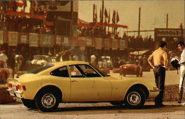 Buick's 1970 Opel GT tModel 93 Lights Your Fire! Cars