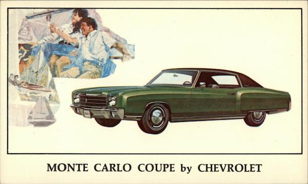 Monte Carlo Coupe by Chevrolet Cars