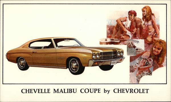 Chevelle Malibu Coupe by Chevrolet Cars
