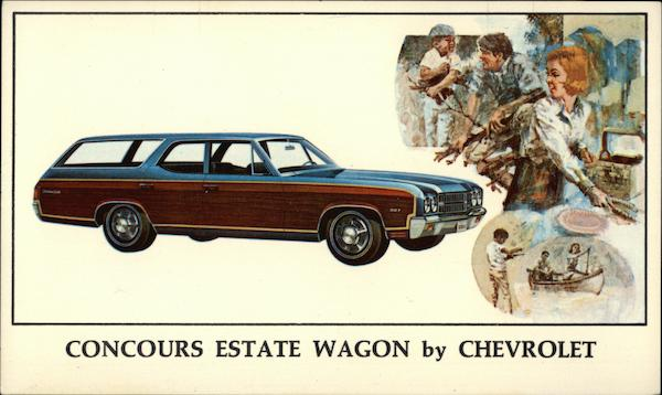 Concours Estate Wagon by Chevrolet Cars
