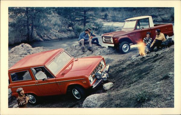 1971 Ford Bronco Trucks
