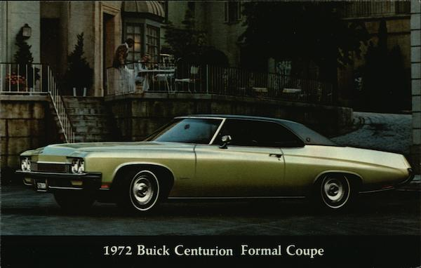 1972 Buick Centurion Formal Coupe Cars