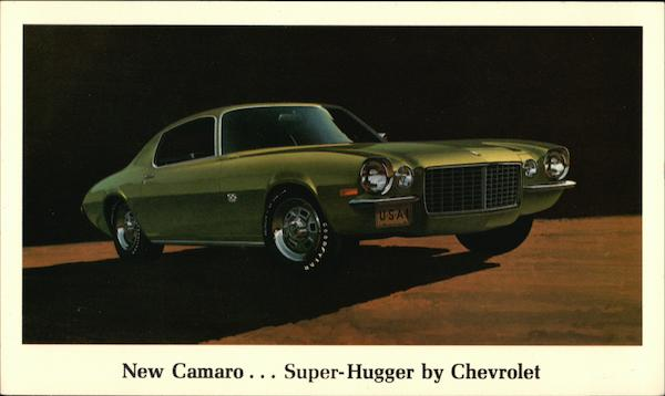 Camaro Super-HUgger by Chevrolet Cars