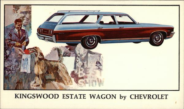 Kingswood Estate Wagon by Chevrolet Cars