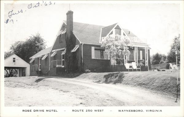 Rose Drive Motel Waynesboro Virginia