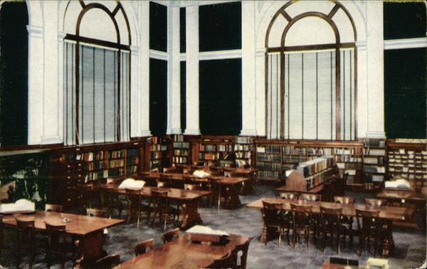 Reference Room -- Ryerson Building Grand Rapids Michigan