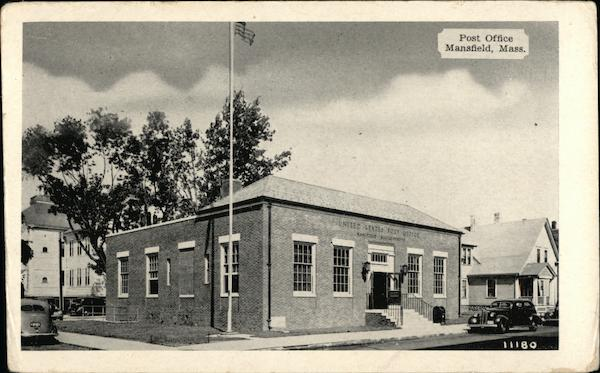 Post Office Mansfield Massachusetts
