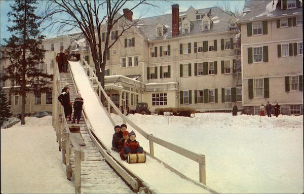 The Toboggon Slide at The Northfield Inn East Northfield Massachusetts