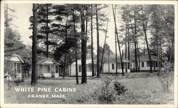 White Pine Cabins Orange Massachusetts