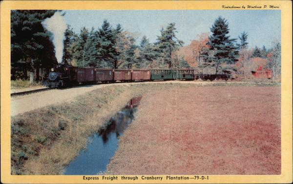 Express Freight through Cranberry Plantation-79-D-1