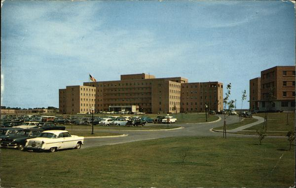 Main Building, Veterans Administration Hospital - Dedicated October 25, 1953 Brockton Massachusetts