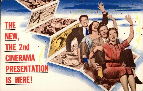 The New, the 2nd Cinerama Presentation is Here! Boston Massachusetts