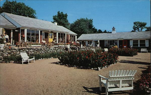 Colony Terrace Shops Ogunquit Maine