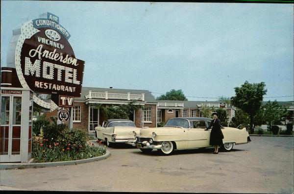 Anderson Motel and Restaurant Murfreesboro Tennessee