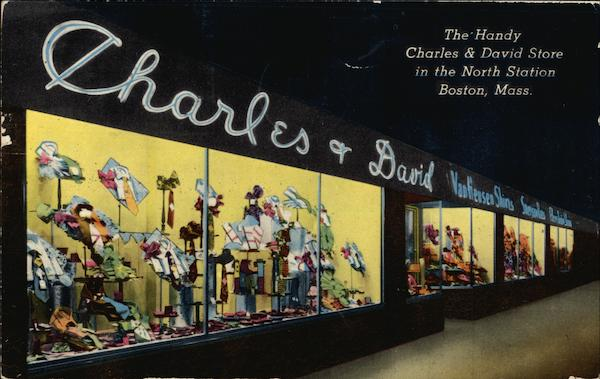The Handy Charles & David Store in the North Station Boston Massachusetts
