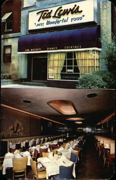 Ted Lewis Restaurant Washington District of Columbia