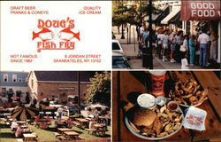 Doug's Fish Fry Postcard