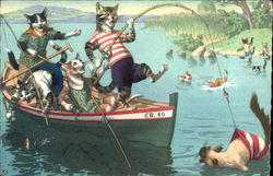 Cats Gone Fishin'
