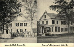 Masonic Hall and Granny's Restaurant